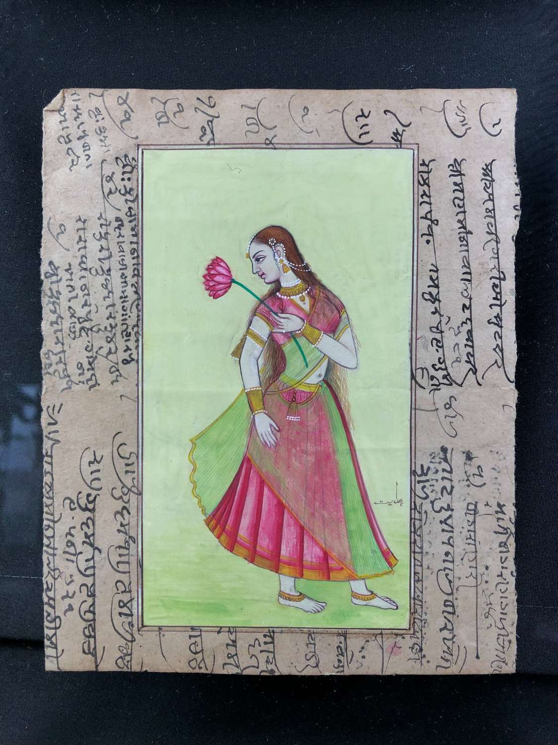 Mughal Hand Painted Watercolours or exquisite craftmanship.