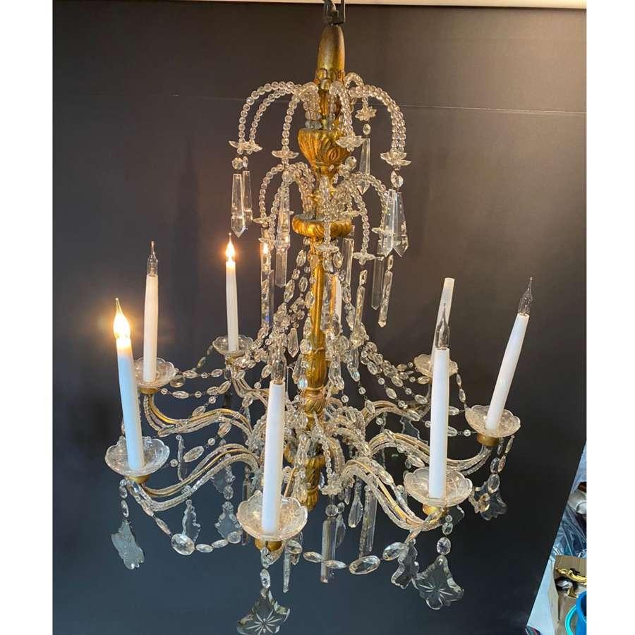 18th century Italian style chandelier