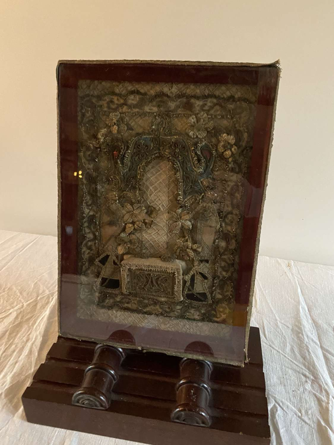 An early 19th century relic of an altar