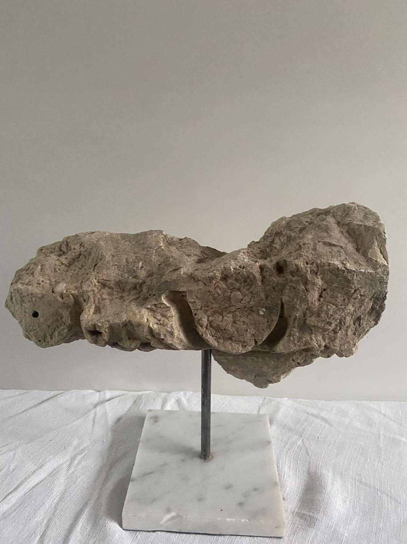Roman carved stone
