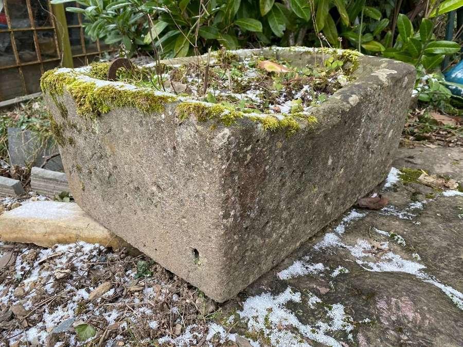 18th sentry sandstone trough