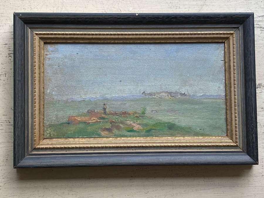 A pair of oil paintings