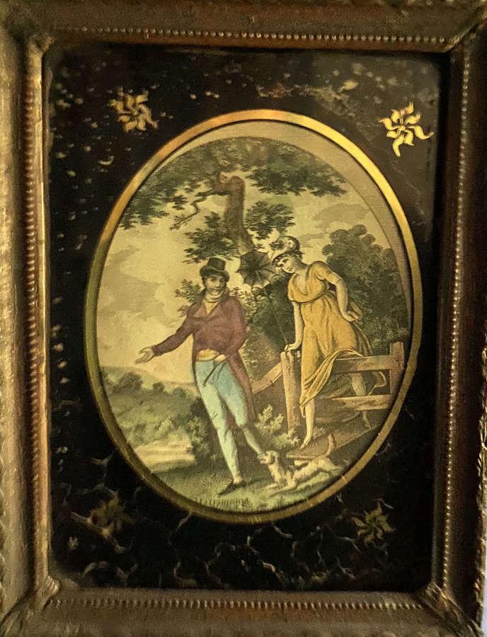 A Regency engraving