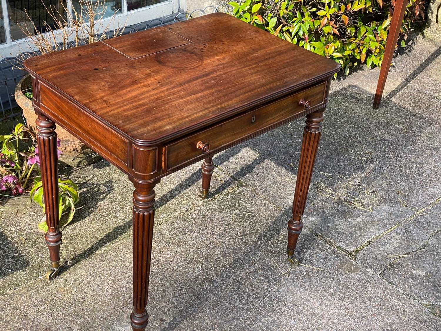 A classic small writing table